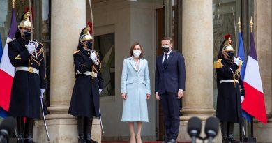 Майя Санду после встречи с Эммануэлем Макроном: «Этот визит углубит сотрудничество между Молдовой и Францией»
