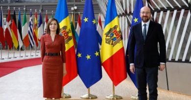 Глава Европейского Совета в воскресенье посетит Кишинев