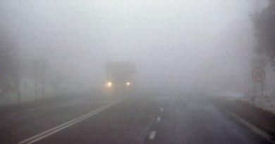 В Молдове продлили желтый код из-за тумана. Он действует по всей стране