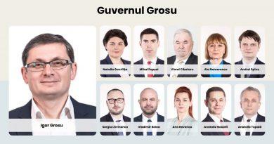 (Фото) Кандидат в премьер - министры Игорь Гросу представил свою команду