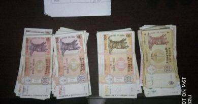 В Кишинёве патрульные нашли пакет с деньгами на стоянке для такси