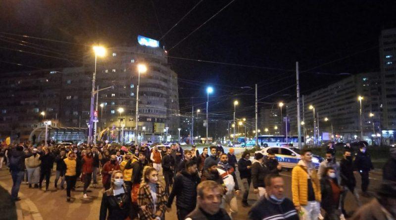 Румынию захлестнула волна протестов. Граждане не довольны новыми ограничениями