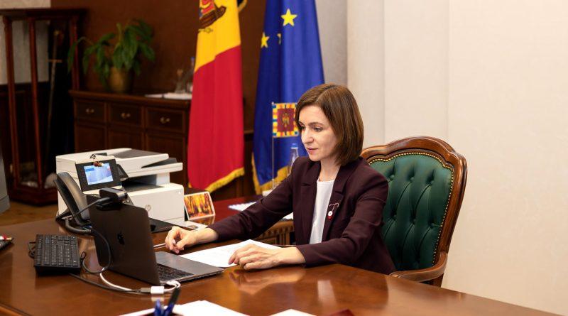 Президент Молдовы обсудила с канцлером Германии политический кризис в стране
