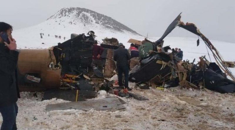 В Турции разбился военный вертолет. Погибли 11 человек