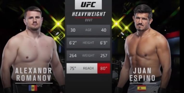(Видео) Александр Романов   одержал третью победу в UFC