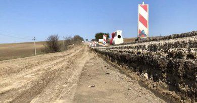 Участок дороги Бурлачены - Вулканешты сделан лишь на четверть. До завершения срока работ  осталось менее года