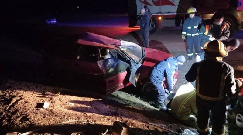 В Сынжерейском районе в аварии погибла 18-летняя девушка. Водитель был пьян