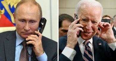 Байден в разговоре с Путиным обсудил Украину и скопление российских войск у ее границ