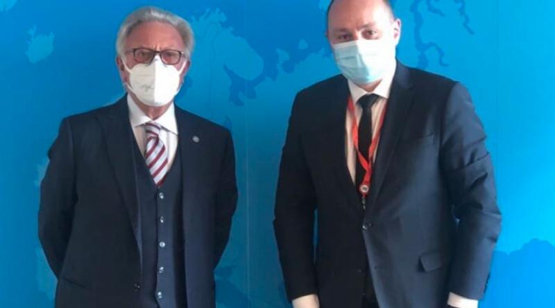 Вице-спикер парламента Влад Батрынча обсудил с главой Венецианской комиссии решение КС о роспуске парламента