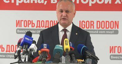 Додон заявил о давлении на КС по решению о роспуске парламента, которое инстанция рассмотрит 15 апреля