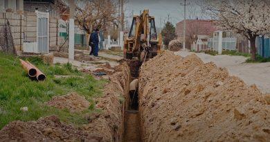 (Видео) В Копчаке жителей еще трех улиц подключат к водопроводу и канализации