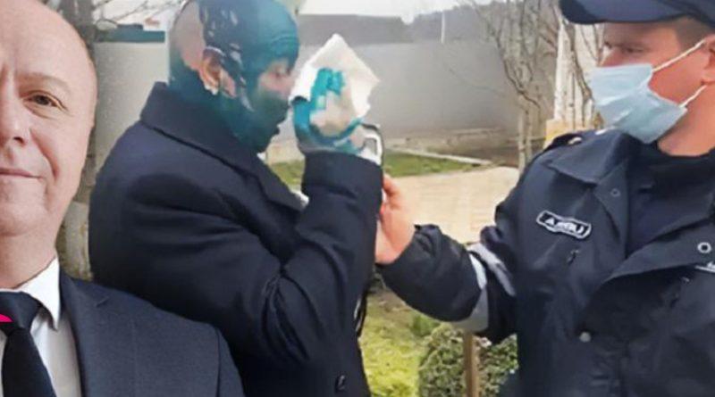 Вице-главу Сынжерейского района облили зеленкой «за прививку вне очереди». Он получил ожоги глаз и пока не видит