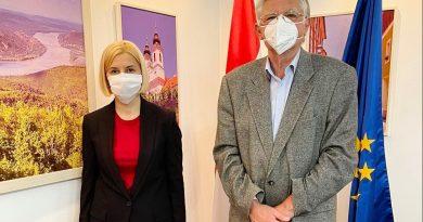 Ирина Влах попросила посла Венгрии о помощи в организации визита в эту страну