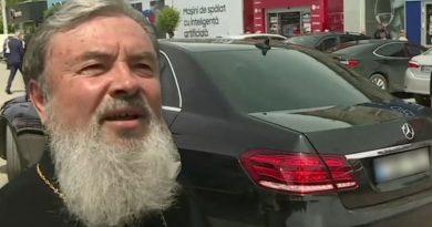 (Видео) «Это был подарок хорошего человека». Епископ Маркелл обеспокоен вопросами о своем люксовом автомобиле Mercedes класса E