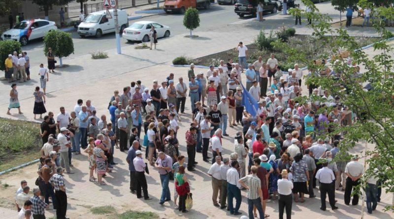 В Комрате перед зданием исполкома и НСГ запланирован митинг. Что будет обсуждаться?