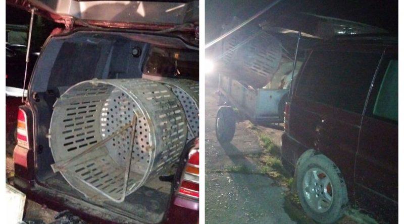 (Фото) Жителя села Конгаз поймали с ворованным металлом