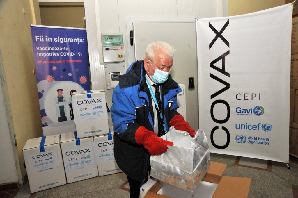 В Молдову поступила новая партия вакцины Pfizer/ BioNTech
