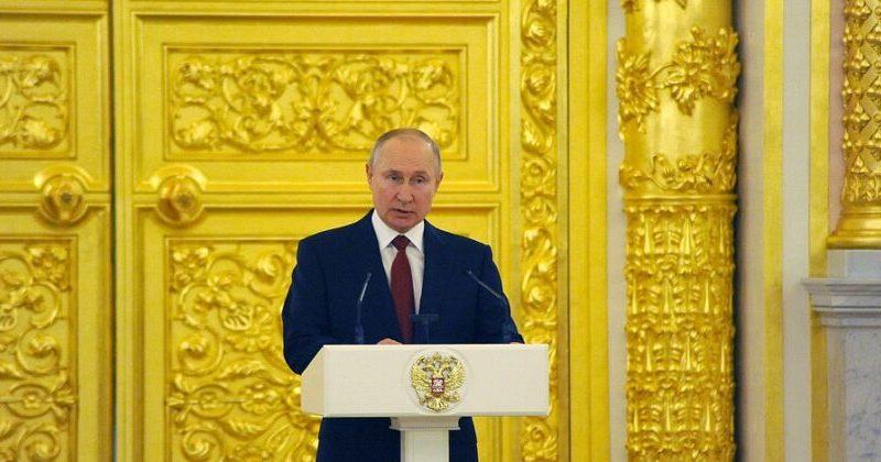 """Путин Молдове: """"Будем и впредь содействовать поиску справедливого решения проблемы приднестровского урегулирования"""""""