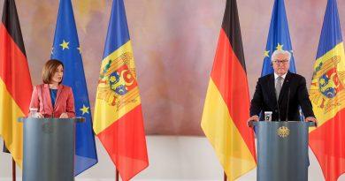 Майя Санду сообщила об итогах встречи с президентом Германии