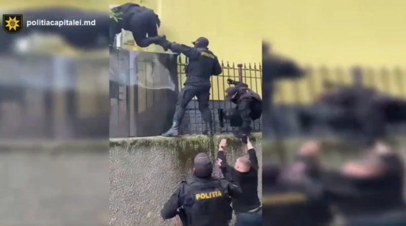 В Кишиневе спецназ и полиция взяли штурмом подпольное казино
