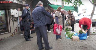 (Видео) Мэрия Комрата провела рейд по борьбе с уличной торговлей