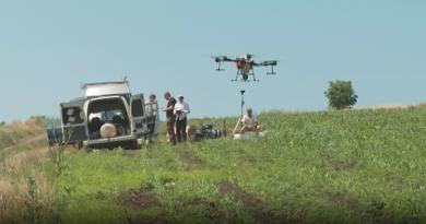 Молдавский бизнесмен купил дроны, которые использует в сельском хозяйстве
