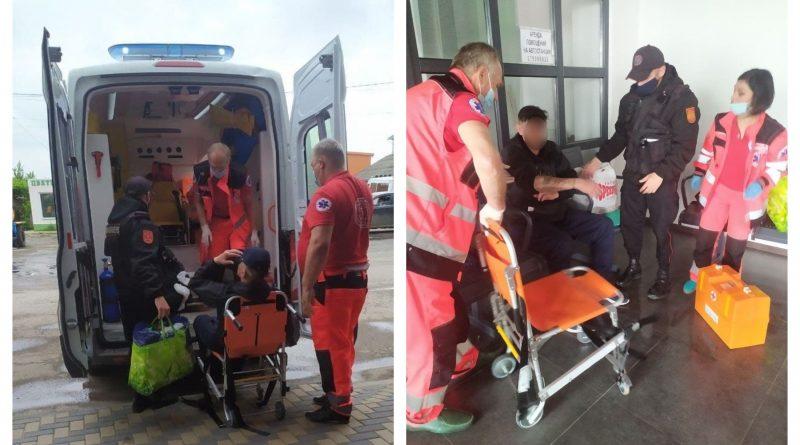 Карабинеры  оказали первую помощь мужчине потерявшему сознание на автовокзале в Комрате