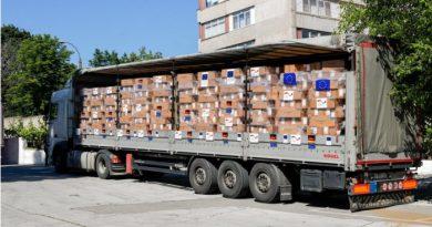 Молдова получила от Германии партию помощи на сумму более 200 млн леев для борьбы с пандемией