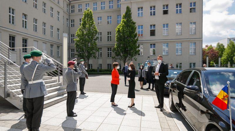Сколько стоил визит Майи Санду в Берлин - отчет администрации президента