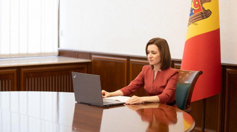 Майя Санду обсудила с представителями бизнес-ассоциаций восстановление экономики страны