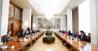 """Майя Санду: """"Урегулирование приднестровского конфликта должно происходить мирно"""""""