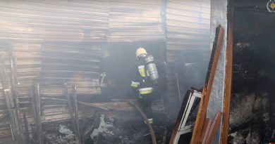 (Видео) Как в Кишиневе тушили пожар на складе