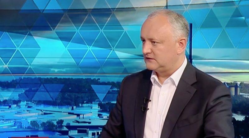 Игорь Додон раскритиковал решение Апелпалаты о сокращении избирательных участков в Приднестровье