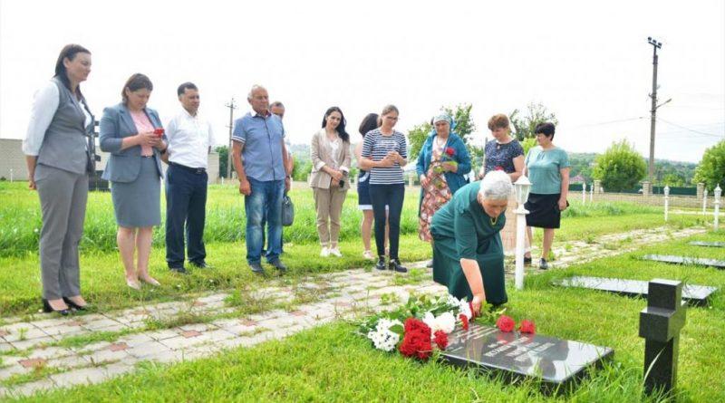 (Видео) В Авдарме почтили память жертв массовых репрессий 40-50 годов прошлого века