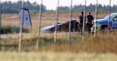 Авиакатастрофа в Швеции: погибли восемь спортсменов-парашютистов и пилот