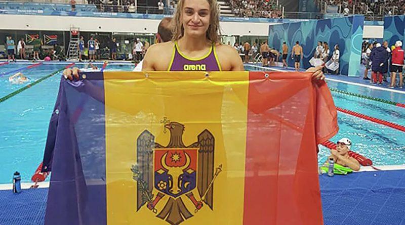 Молдавская пловчиха Татьяна Салкуцан вышла в полуфинал Олимпиады и установила сразу два рекорда