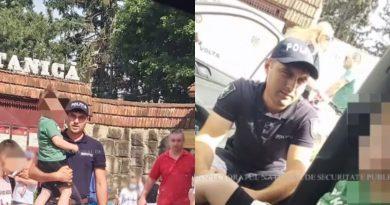 В Кишиневе 4 - летний ребенок пошел на праздник с родителями и потерялся в толпе. Полицейские вернули его семье