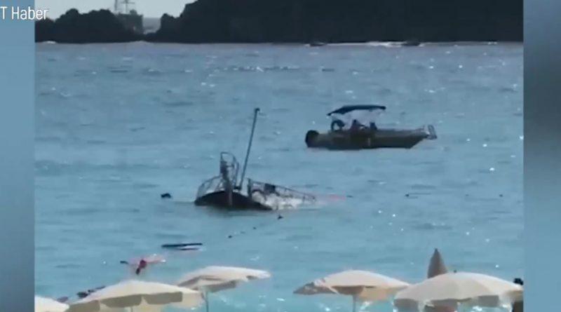 Трагедия на побережье Турции: катер с туристами ушел под воду