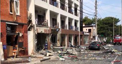 (Видео) Взрыв в гостинице в Геленджике: есть погибшие, эвакуировано 50 человек