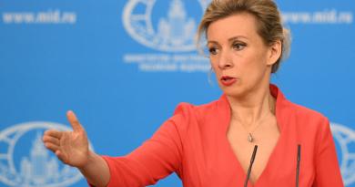 """Захарова: """"Россия отмечает беспрецедентное вмешательство США и ЕС в предвыборную кампанию в Молдове"""""""