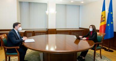 Майя Санду прокомментировала обвинения генпрокурора в свой адрес