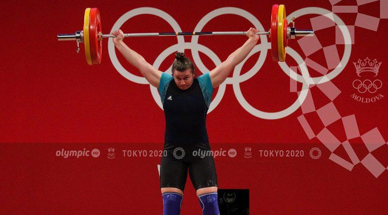 Елена Кыльчик из Комрата вошла в восьмерку лучших тяжелоатлетов на Олимпийских играх
