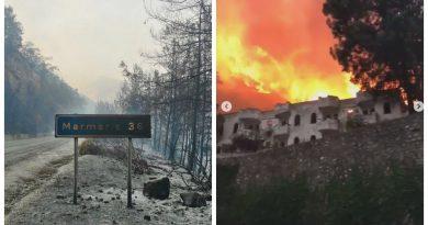 Пожары в Турции: граждан Молдовы, отдыхающих в Мармарисе, доставят на родину