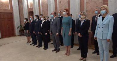 Парламент Молдовы утвердил правительство Натальи Гаврилицы