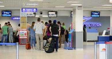 В Кишиневском аэропорту увеличили время регистрации. Теперь на месте нужно быть за три часа до вылета