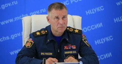 В России во время учений погиб глава МЧС. Он пытался спасти человека