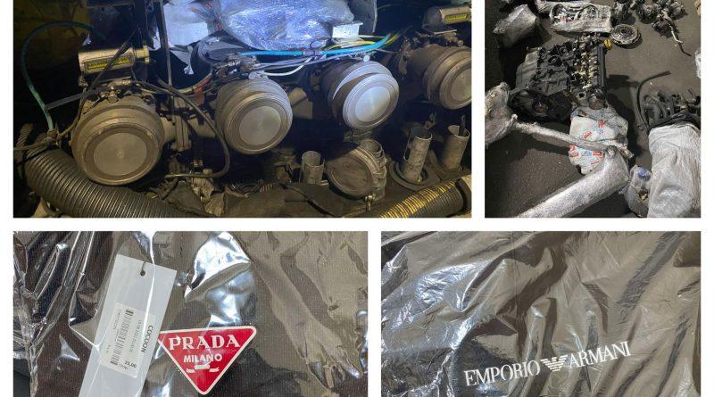 За минувшие сутки таможенная служба Молдовы выявила сразу несколько случаев контрабанды товара