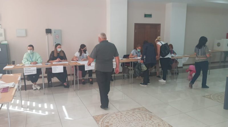 Данные о голосовании по выборам в Народное собрание на 12:15