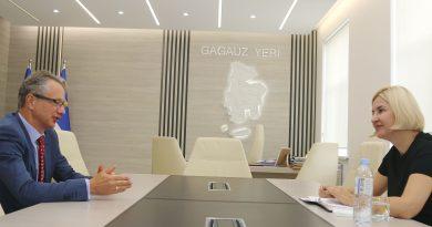 Ирина Влах на встрече с главой миссии ОБСЕ в Молдове обсудила слабый диалог между Кишиневом и Комратом