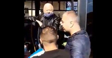 (Видео) В Кишиневе мужчину выгнали из троллейбуса. Он отказался надеть защитную маску